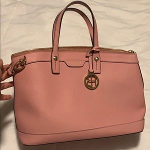 Henri Bendel New York Pink Crossbody Tote Purse